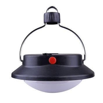 60 LED Ultra Bright Outdoor Camping Lamp Tent Light With Lampshade Circle Durable ABS Rechargeable Fishing Hanging Lighting