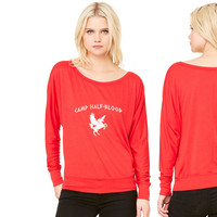 Camp Half-Blood women's long sleeve tee