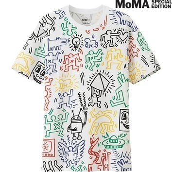 MEN SPRZ NY GRAPHIC T SHIRT (KEITH HARING) | UNIQLO