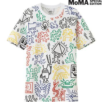 eb82094f MEN SPRZ NY GRAPHIC T SHIRT (KEITH from UNIQLO | tees nd tanks