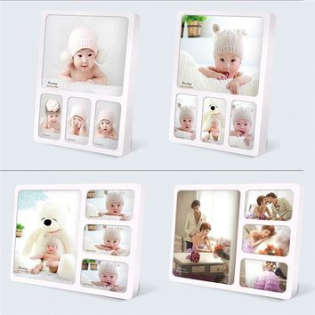 Desktop Wall Hanging Acrylic Photo Frame with No Pictures Creative Photo Frames for Picture Home Decoration Acrylic Picture Fram