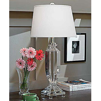Regina Andrew Crystal Tall Urn Lamp - 405-611