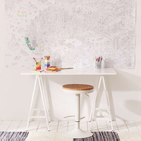 OMY XXL Coloring Roll Poster | Urban Outfitters