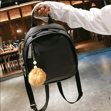 University College Backpack European and American fashion  style retro Mori girl  students simple school bag travel AT_63_4