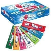 Airheads Singles Assorted Flavors - Total: 180 ct (90 ct X 2)