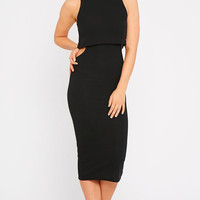 Allie Midi Dress Black