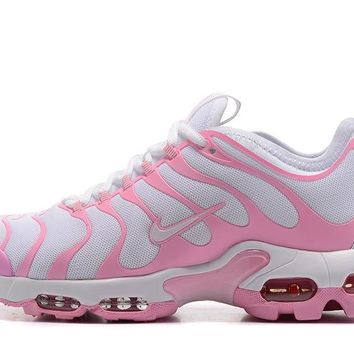 Nike Air Max Plus Tn Ultra Sport Shoes Casual Sneakers - Pink White