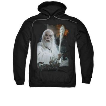 The Lord Of The Rings Movie Gandalf Licensed Adult Pullover Hoodie