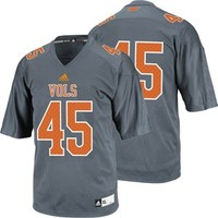 Men's Tennessee Volunteers Alternate Replica #45 Jersey (Grey) at Sport Seasons