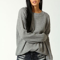 Molly Oversized Marl Vintage Jumper