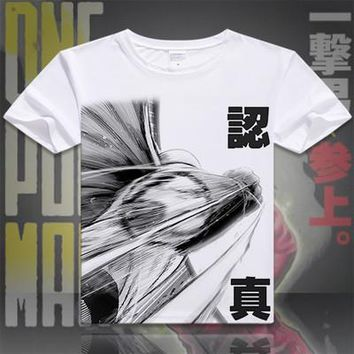 One Punch Man Short Sleeve Anime T-Shirt V4