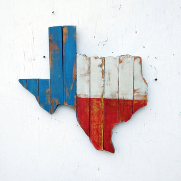 Texas Wall Art, Reclaimed Wood Decor, Rustic State Outline, Rustic Texan Decor, Recycled Wood Decor, Wood Wall Art, Wooden Texas Map