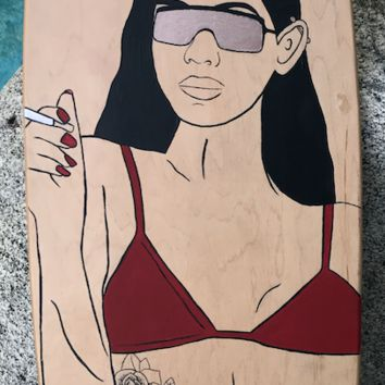 Bad Bish Longboard Deck