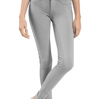 LE3NO Womens Soft Skinny Ponte Jegging Pants