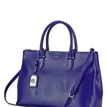 Lauren Ralph Lauren Newbury Leather Satchel