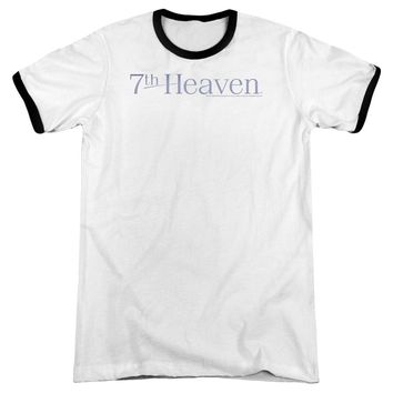 7 Th Heaven - 7 Th Heaven Logo Adult Ringer
