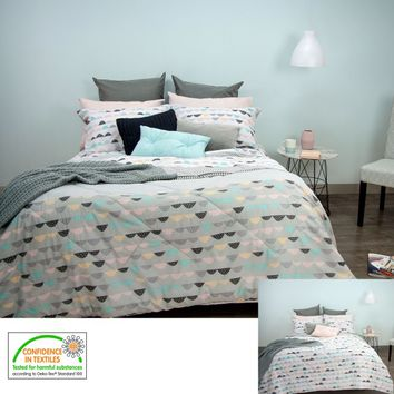 Eve Grey Reversible Comforter Set by Apartmento