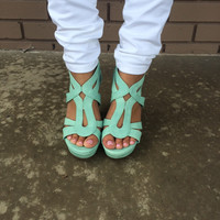 Mint Hurst Wedges