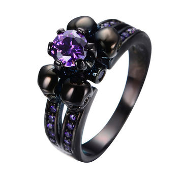 Shop Skull Engagement Ring on Wanelo 3297368355f2