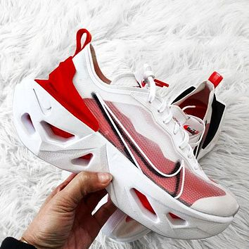 NIKE ZOOM X VISTA GRIND WOMEN MAN SPORTS DIAMOND SOLE Rhomboid White Red
