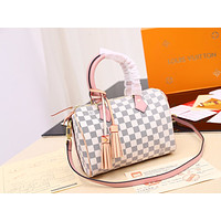2019 New LV Louis Vuitton Women Leather Monogram Fashion Mini size Handbag Neverfull Bags Tote Shoulder Bag Wallet Purse Bumbag Quality