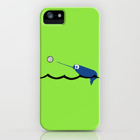 Water Polo Narwhal iPhone & iPod Case by Zany Du Designs
