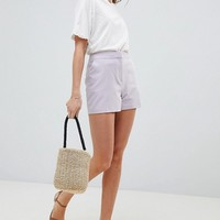 ASOS DESIGN tailored a-line shorts at asos.com