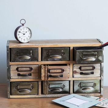 Rustic Crafty Catalogue Storage Chest by ModCloth