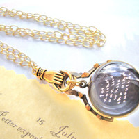 Harry Potter Prophecy Orb Reversible Watch Necklace by RazaelsLair