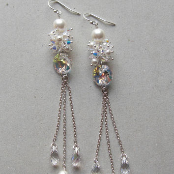 BRIDAL BUD EARRINGS Christine Elizabeth Jewelry™