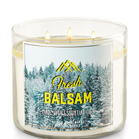 FRESH BALSAM3-Wick Candle