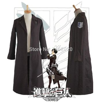 Cool Attack on Titan  no  Allen Adult unisex long Trench coat mantle Scouting Legion Cape Cloak Cosplay Costume AT_90_11