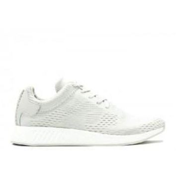VLX85E Beauty Ticks Adidas Nmd R2 Wings + Horns Ash Off White Sport Running Shoes
