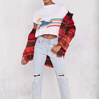 Levis Wedgie High-Rise Jean - Kiss Off - Urban Outfitters