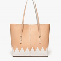 Kuu Collections Structured Tote Printed