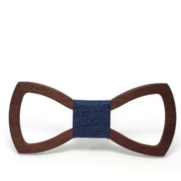Crafty Wooden Bow tie men