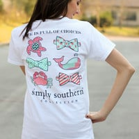 Simply Southern Tee - Sea Life Choices