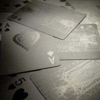 Black Playing Cards at Firebox.com