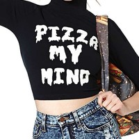 Sexy Letters Print T-Shirt