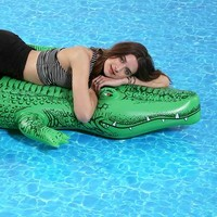 Gator Pool Float- Green One