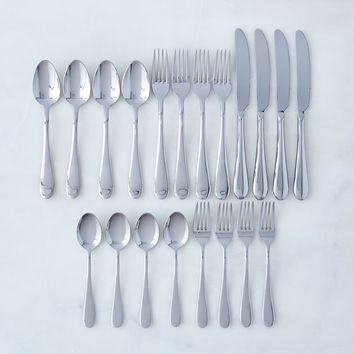 Italian Stainless Steel Flatware (20-Piece Set)