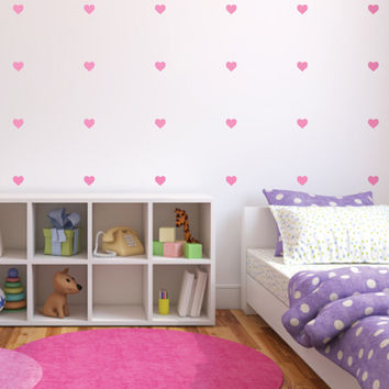 Lil' Hearts Mini-Pack Wall Decals