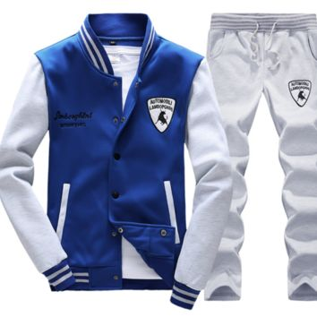 Spring men's baseball tracksuit jackets