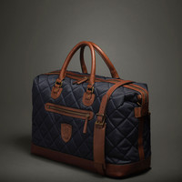 QUILTED WEEKEND BAG LIMITED EDITION - The Equestrian - Handbags - MEN - United States of America / Estados Unidos de América