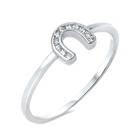 """Sterling Silver """"Lucky"""" Ring"""