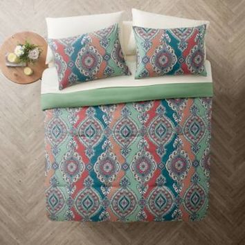 VCNY Home Normandy Comforter Set in Aqua