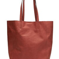 Banana Republic Womens Ashbury Tote Size One Size - Dark saffron