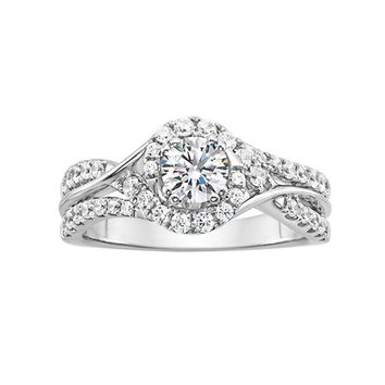 1 ct. tw. Forever Ideal Diamond Engagement Ring