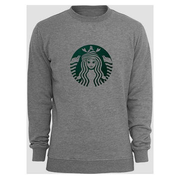 Starbuck Little Mermaid sweater Gray Sweatshirt Crewneck Men or Women for Unisex Size with variant colour