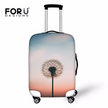 FORUDESIGNS Dandelion Case Cover Luggage Protective Covers Trolley Trunk Case Print Dustproof Suitcase Covers Travel Accessories